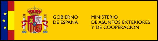 Logotipo del Ministerio de Asuntos Exteriores y Cooperación